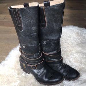 Freebird Dakota Boots Black harness